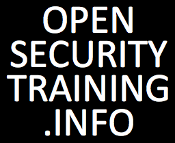 OpenSecurityTraining: a Creative Commons case study